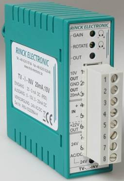 2 KanäleLC-TV-2U.2U 10V.10V Rinck ElectronicTrennverstärker 2U.2U